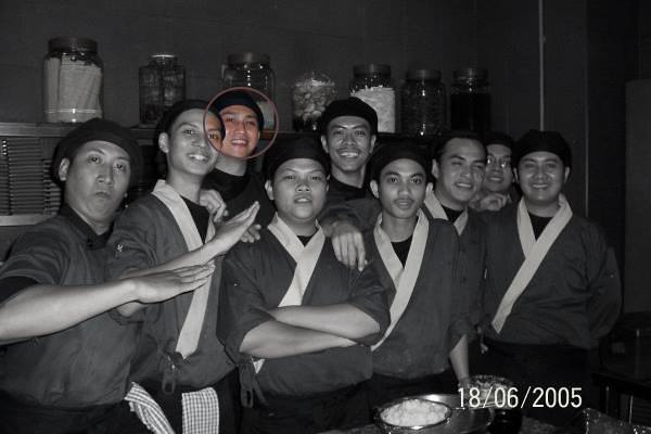 Chef Six Dulu-dulu