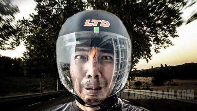 Lipas Dalam Helmet
