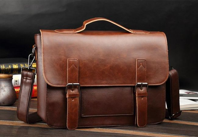9. Genuine Leather Bag