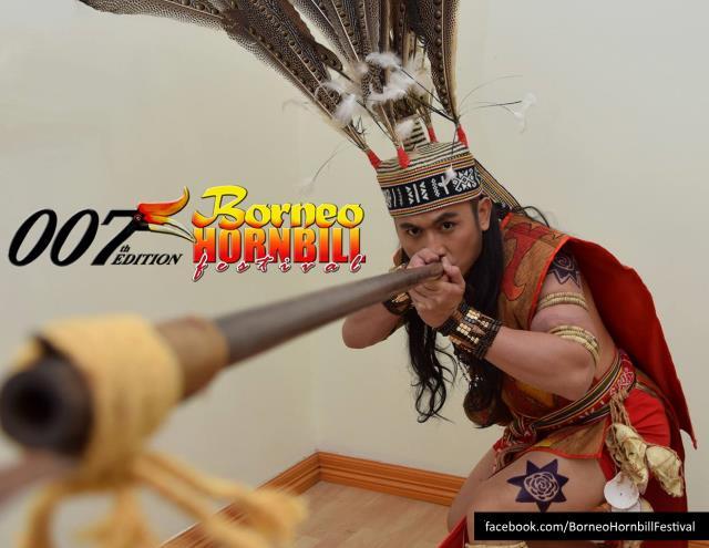 Murut Man of Borneo