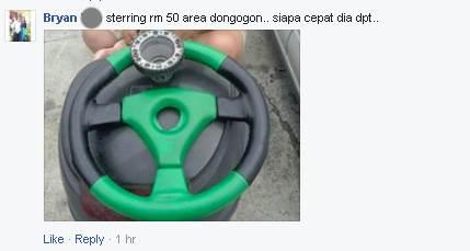 Steering Donggongon